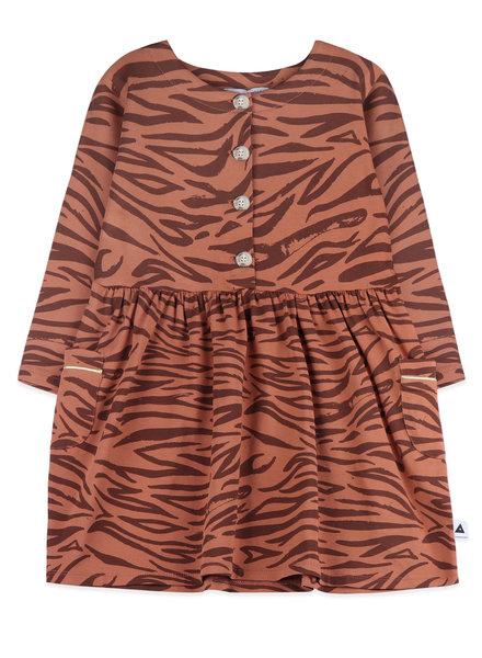 Dress - tiger print