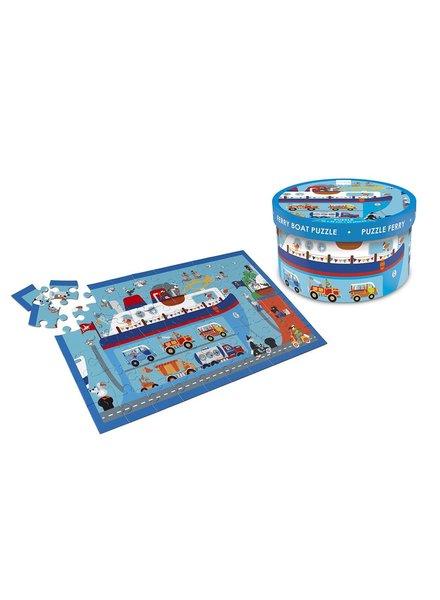 puzzel - veerboot - 60 stuks
