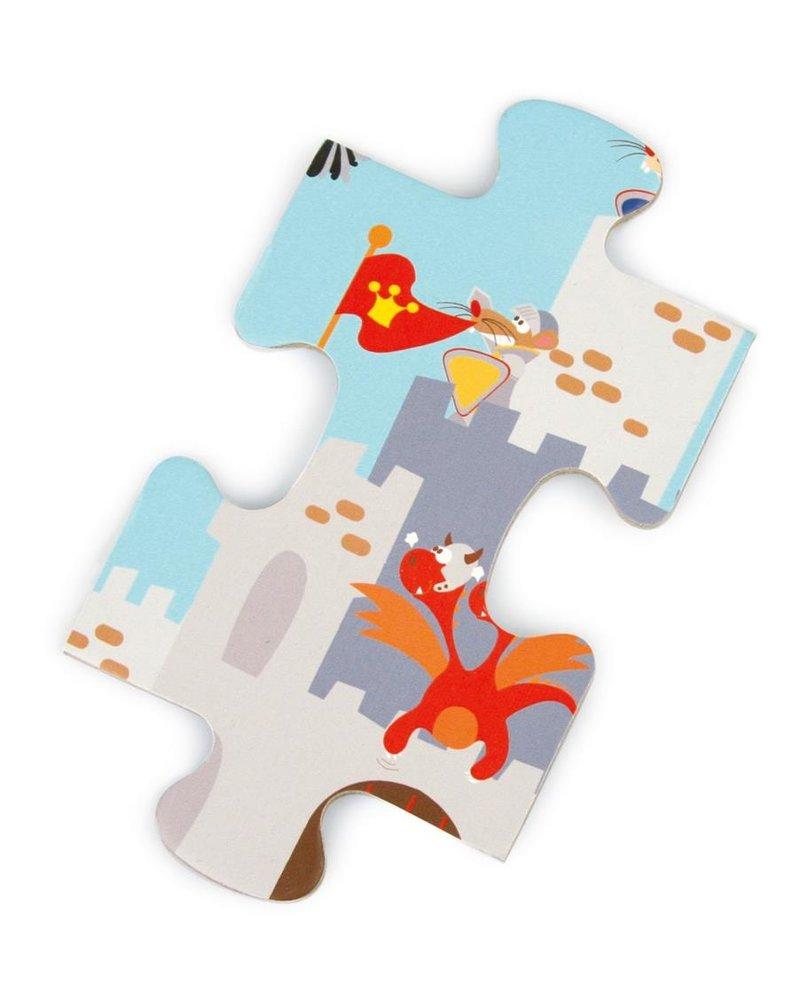 puzzel - riddergevecht