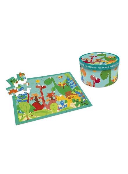 puzzel - dino world - 40 stuks