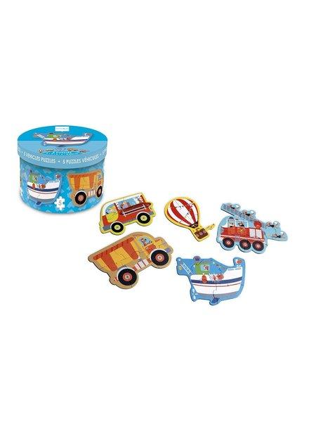beginnerspuzzel - voertuigen