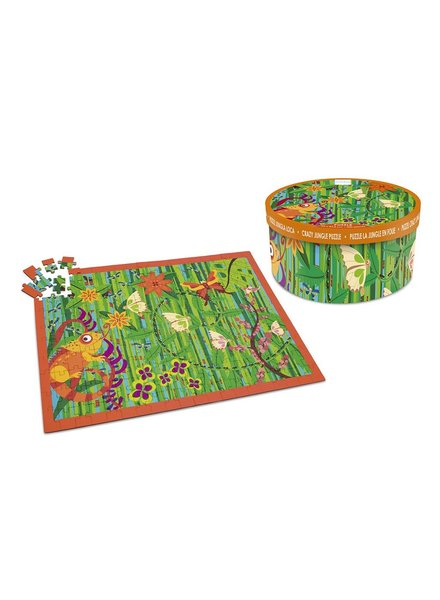 puzzel - crazy jungle - 200 stuks