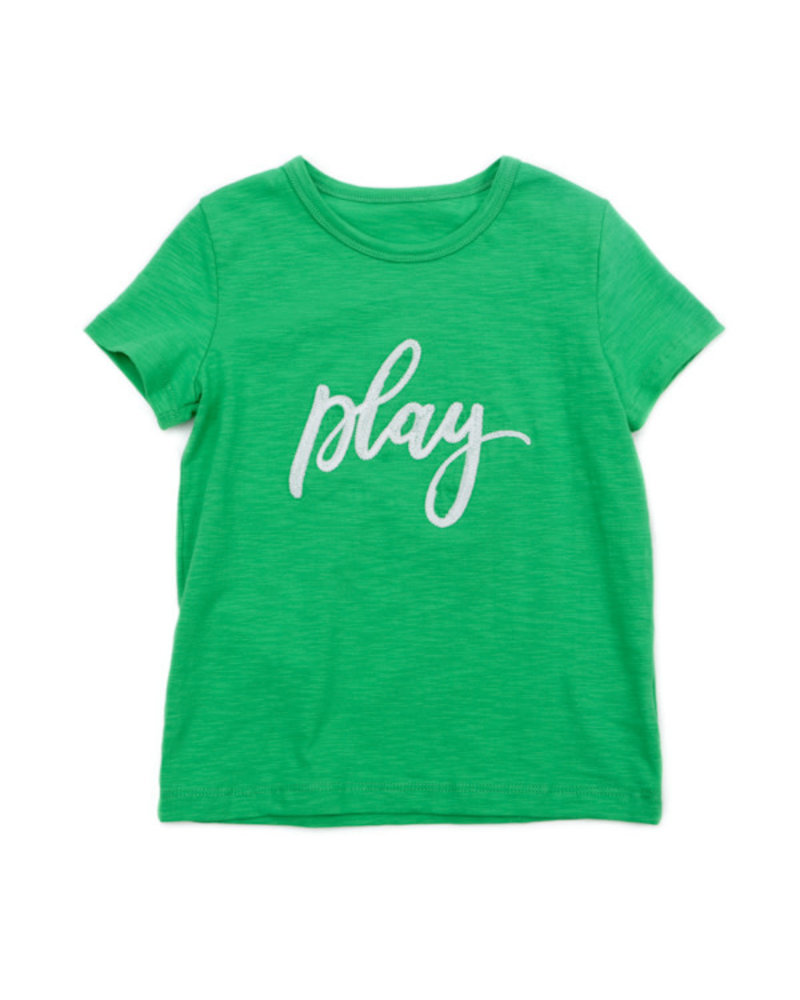 OUTLET // T-shirt - Louis grass green