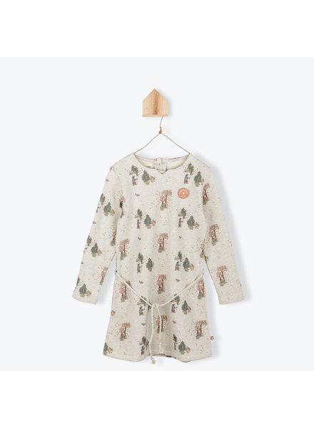 OUTLET // dress - molleton - foret