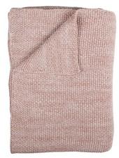 OUTLET // deken wieg - 75 x 100 - pink