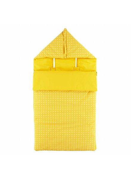 OUTLET // voetenzak yellow