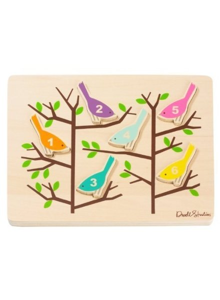 OUTLET // houten puzzel Birds