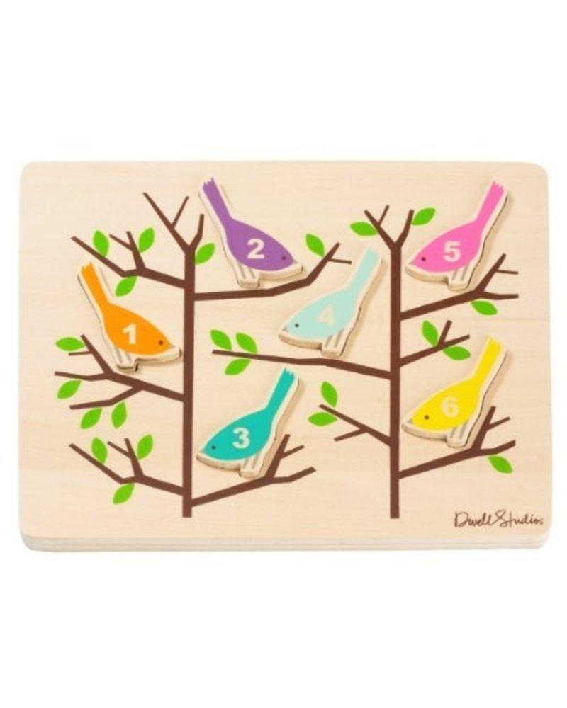 OUTLET // houten puzzel Birds