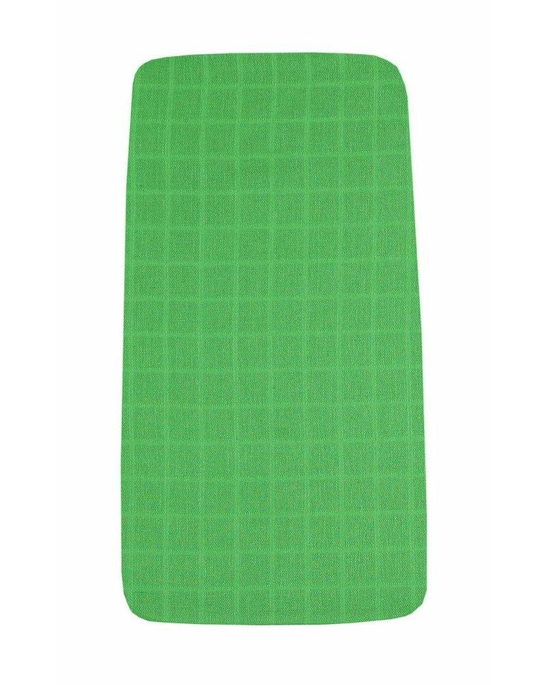 OUTLET // hoeslaken tetra - green - 60x120cm