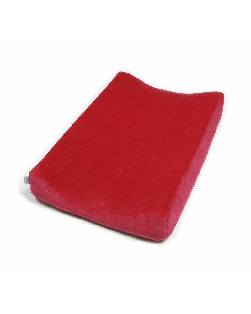 OUTLET // waskussenovertrek rood - 46x68cm