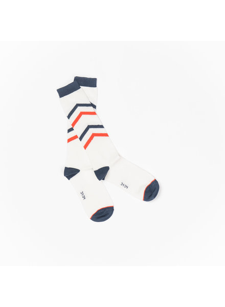 Albababy - knee socks Annie - antique white