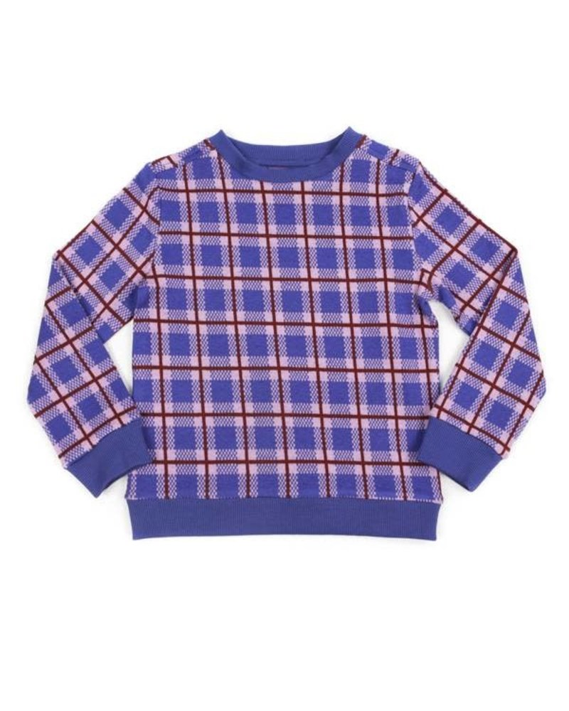 OUTLET // sweater MIKA - tartan