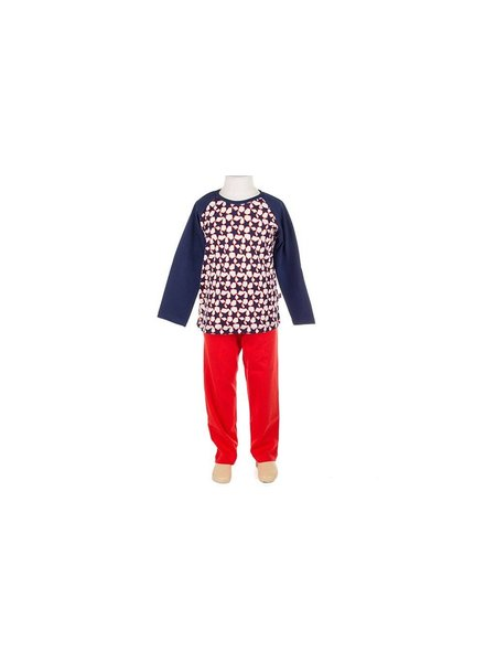OUTLET // pyjama stars blue/red