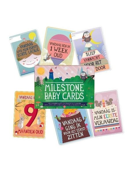 OUTLET // Milestone Baby Cards