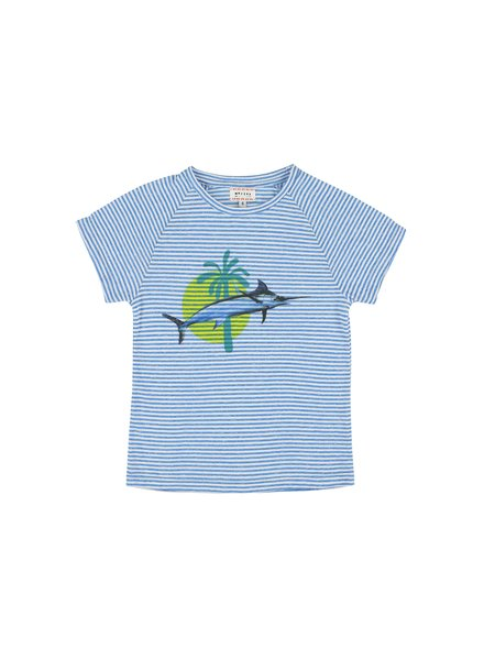 T-shirt - Harvey Swordfish Bleu