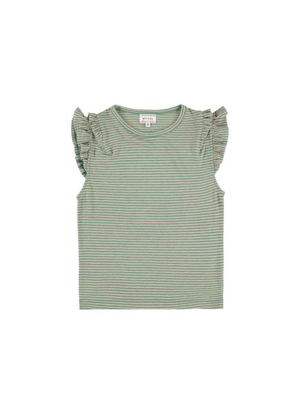 T-shirt - Lotus Stripe Rose