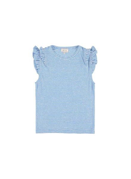 T-shirt - Lotus Stripe Bleu