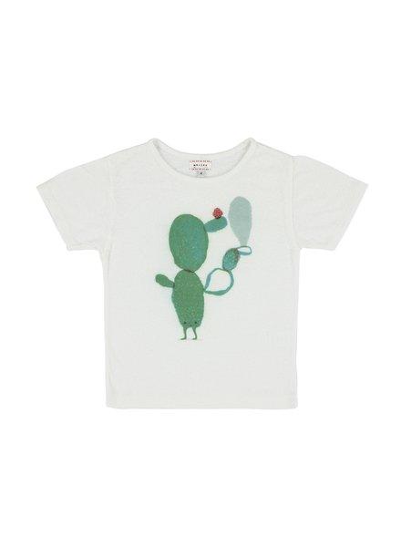 T-shirt - Flip Cactus White