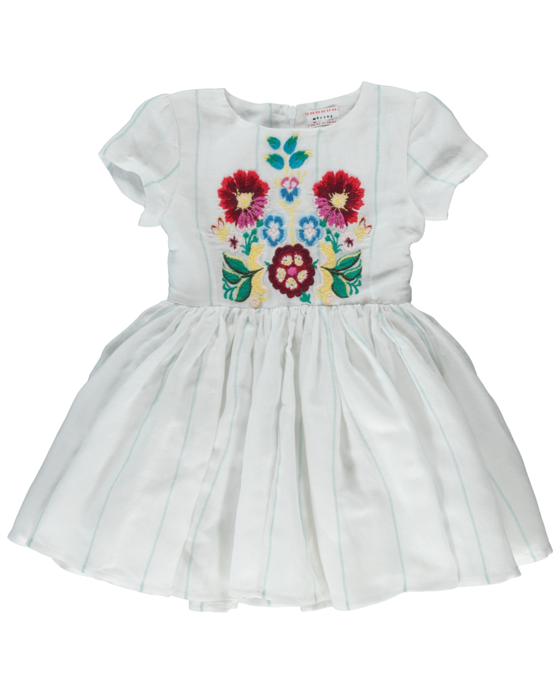 Dress - Jelsa Haiti Floral embroidery