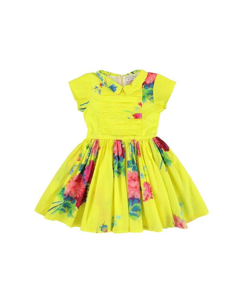 Dress - Lemia Big flores Citrus
