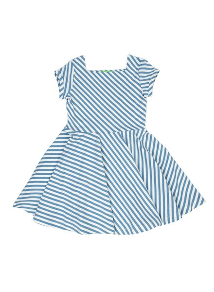 Dress - Kiki Diagonal Stripes