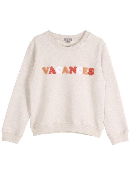 Sweatshirt vacances - Beige