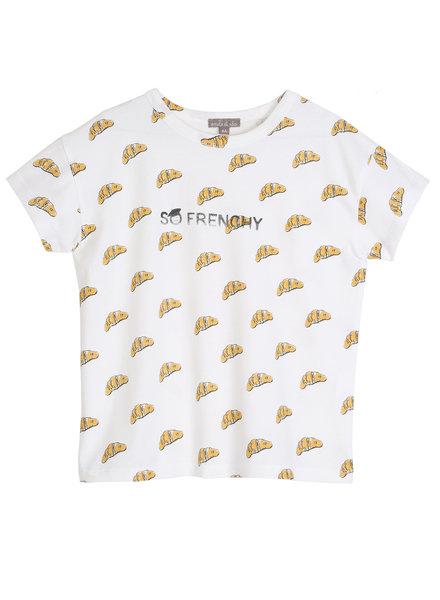 T-shirt - Ecru Croissant