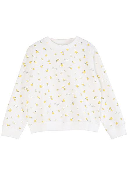 Sweatshirt - Ecru Tutti Fruiti