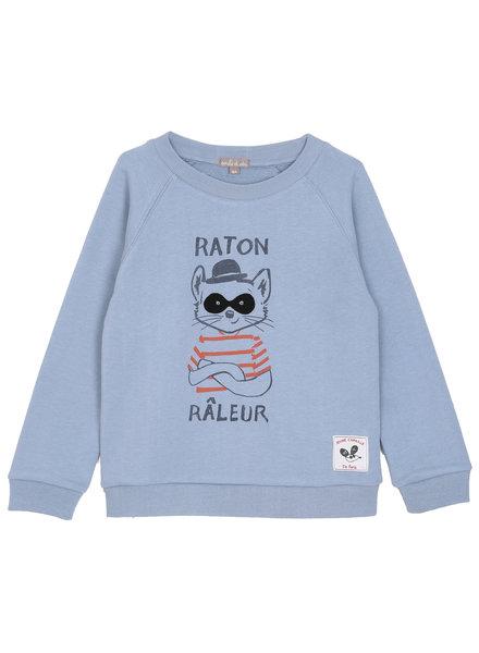 Sweatshirt - Bleuet Raton