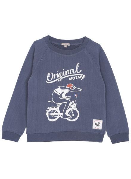 Sweatshirt - Indigo Motard