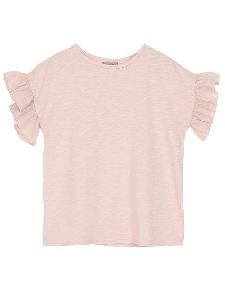 T-shirt flamme - Nude