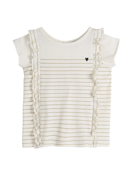 T-shirt mariniere - Or
