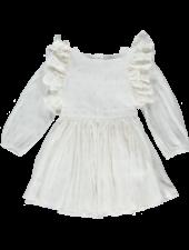 Dress - Laynah Soka Ecru