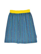 Skirt - Long Stripes And Dots