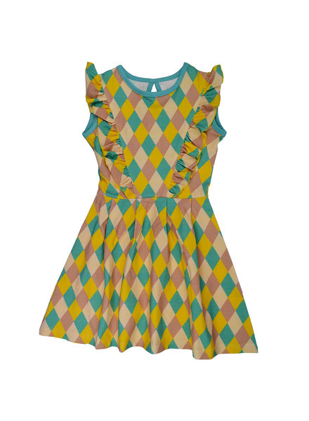 Dress - Ruffle Square