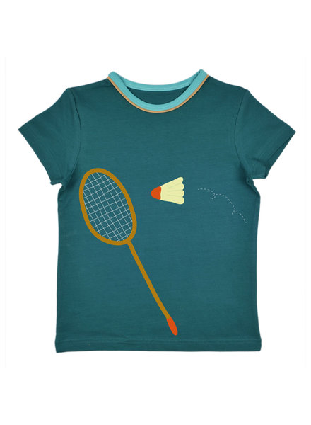 T-Shirt - Tapestry Badminton