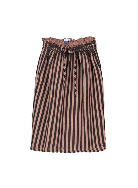 OUTLET // Skirt - Fleur Lumi Rose Black