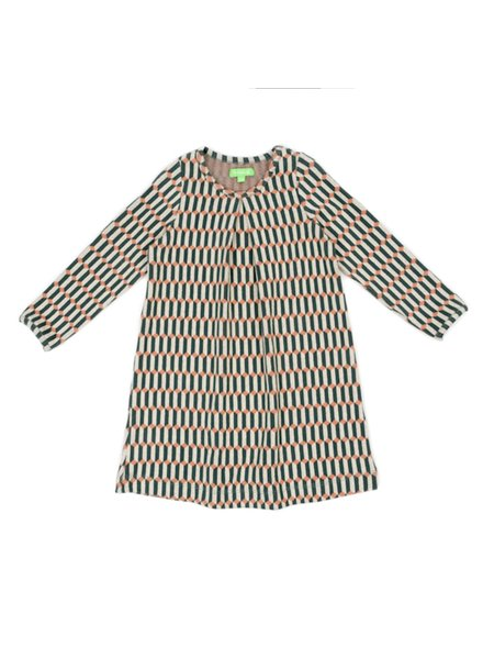 Dress - Alizee Blocks Green