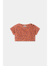 Cropped top - Dots Terry Towel