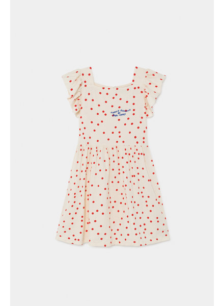 Ruffle Dress - Dots