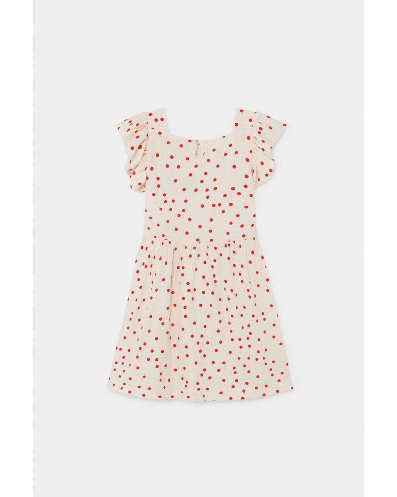 Ruffle Dress - Dots