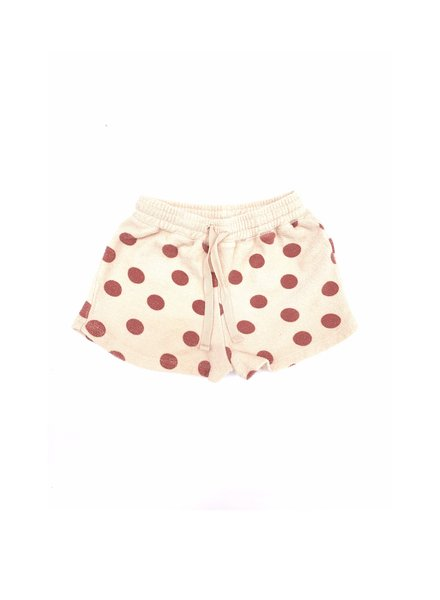 shorts terry - dots