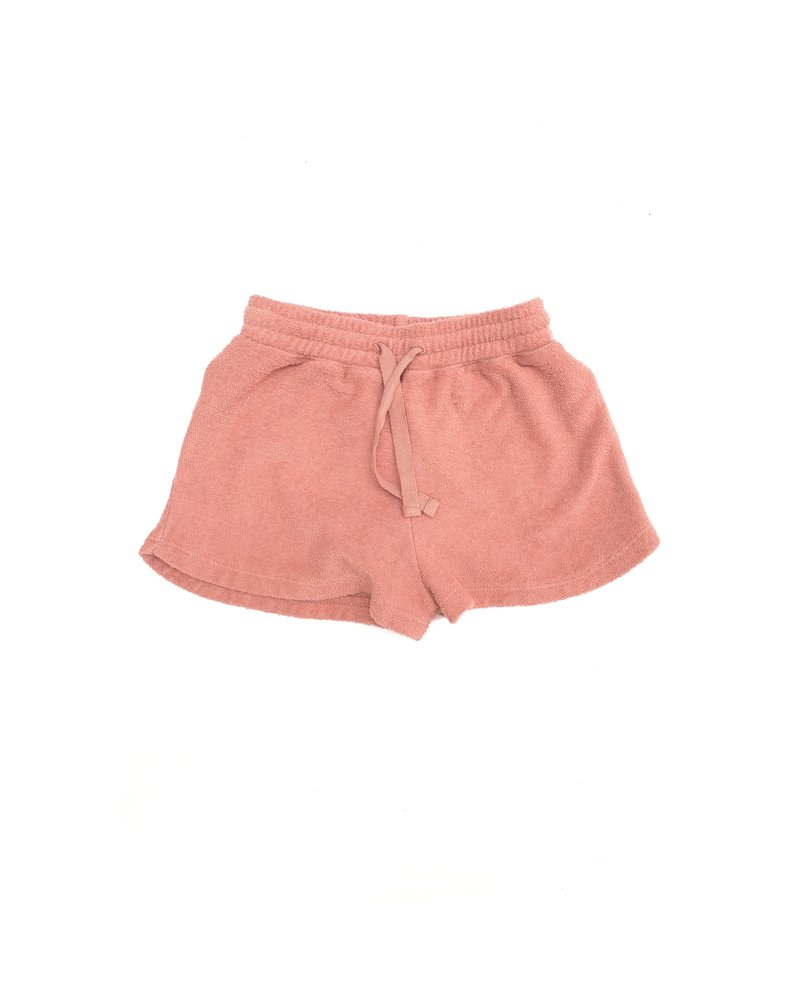 shorts terry - pink