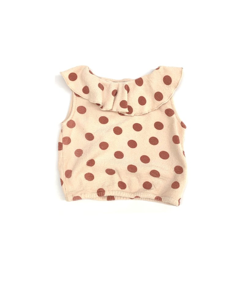 top terry - dots