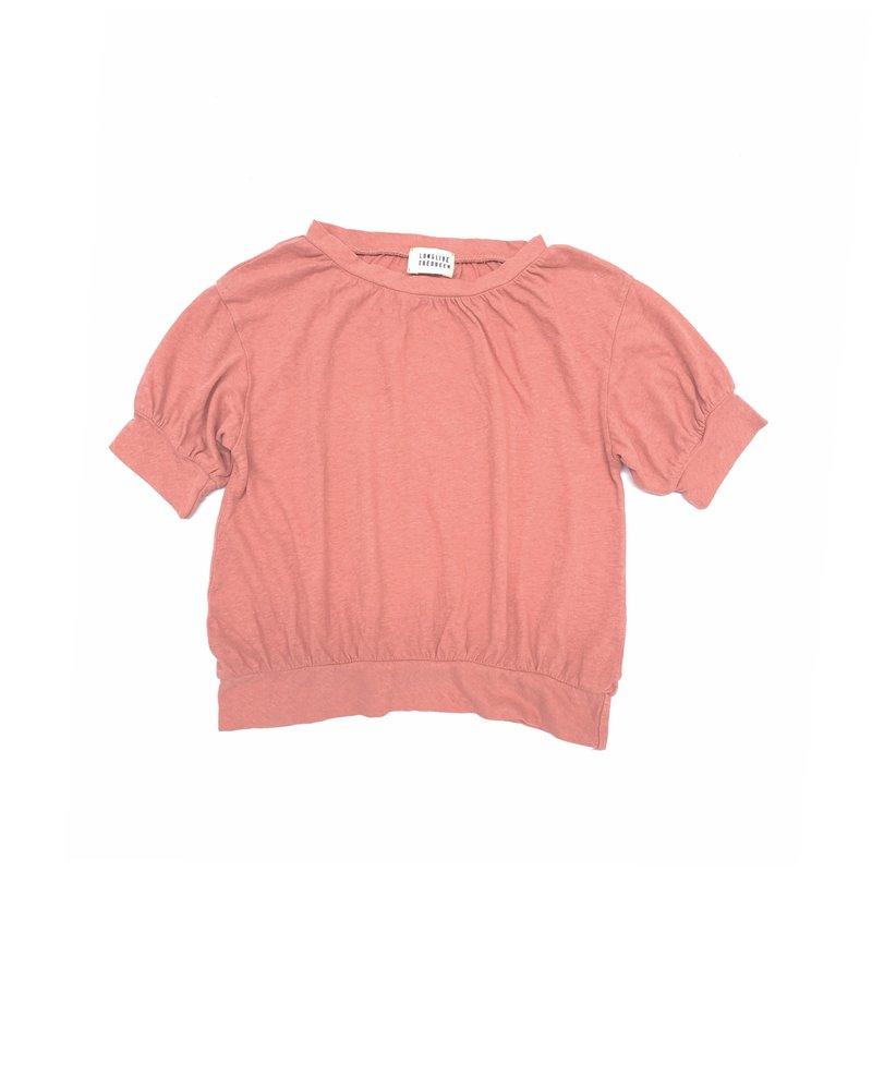 t-shirt puff - pink