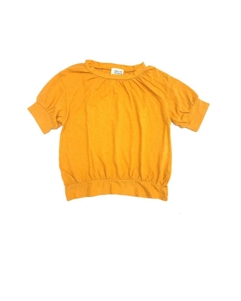 t-shirt puff - yellow