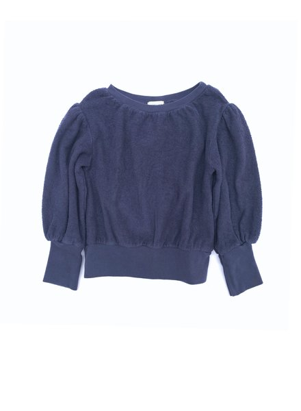 sweater terry - blue