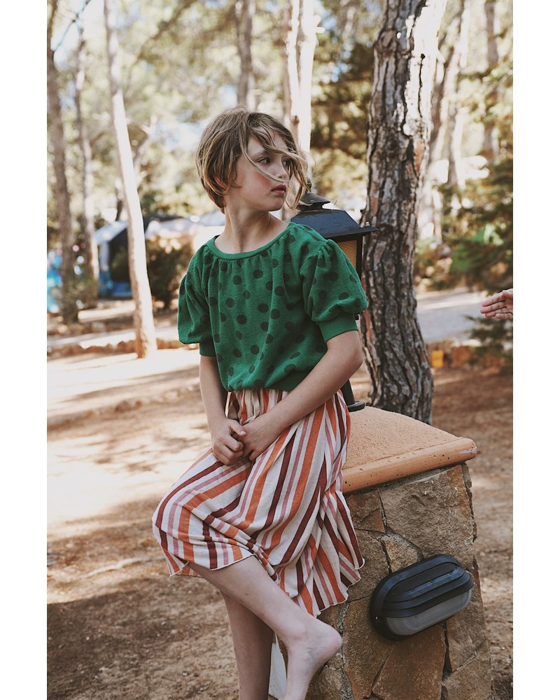 long skirt - stripes