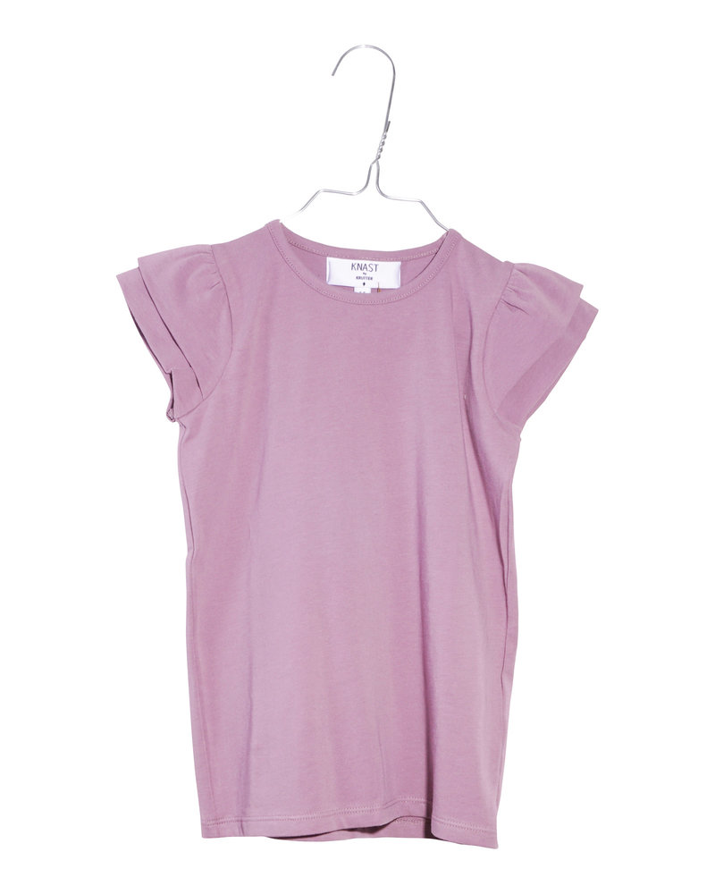 T-shirt - Ruffle Elderberry