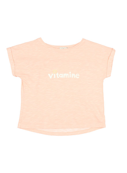 T-shirt - Natalie Vitamine blush pink